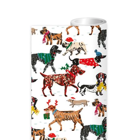 Winter Walkies Wrapping Paper