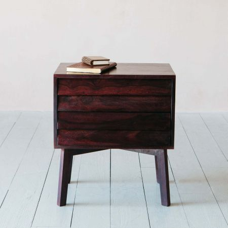 Giogio Dark Bedside Table