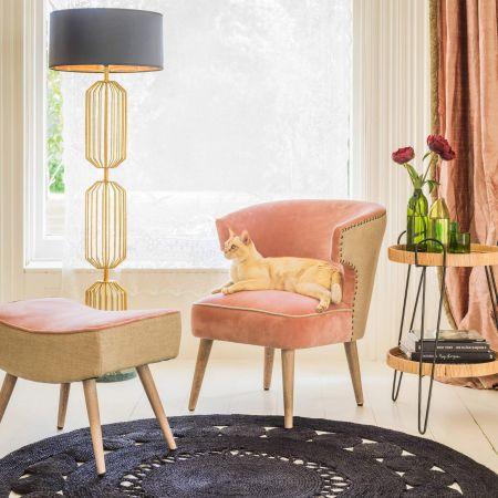 Audrey Rose Velvet Chair