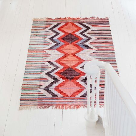 Karim Large Recycled Cotton Rug