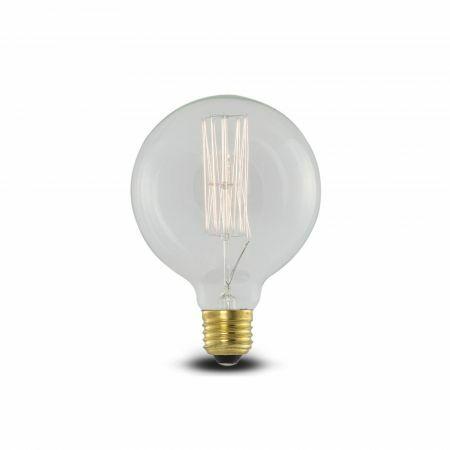 Retro Globe Bulb E27 Max 40W