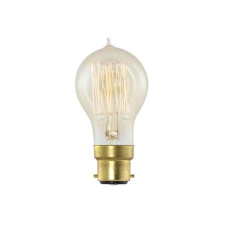 Retro Round Bulb B22 Max 40W