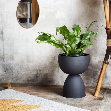 Rounded Iron Vase