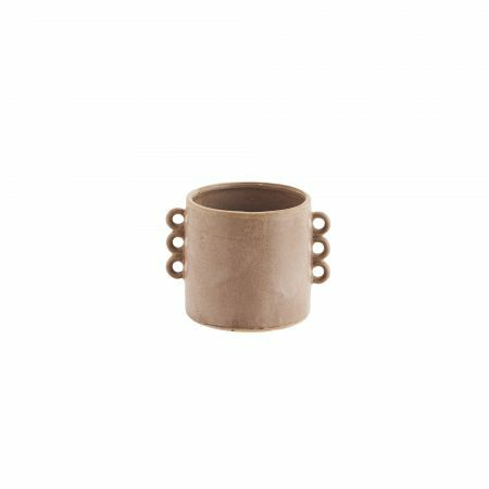 Small Looped Stone Plant Pot