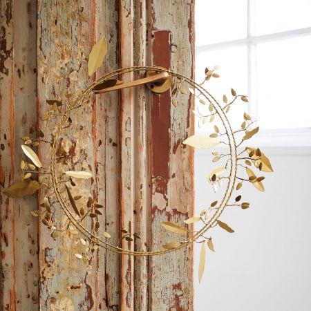 Gold Metal Wreath
