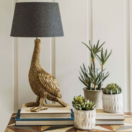 Gertrude Golden Goose Lamp