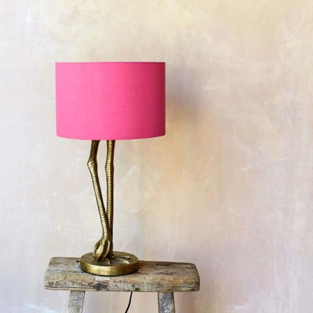 Gold Leggy Flamingo Table Lamp