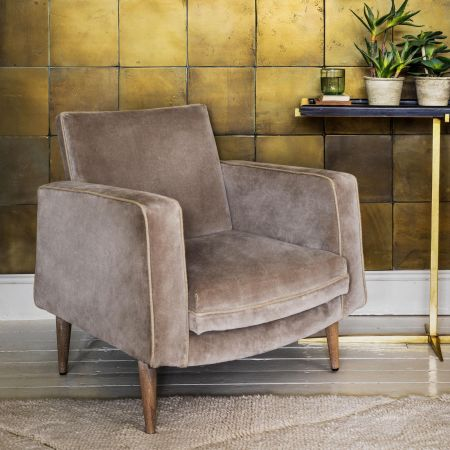 Silver Riesling Armchair