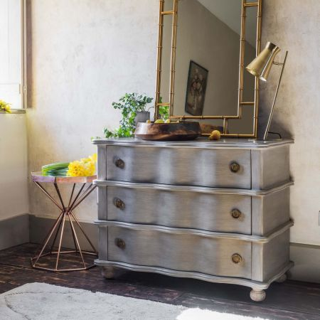Three Drawer Oyster Chest of Drawers