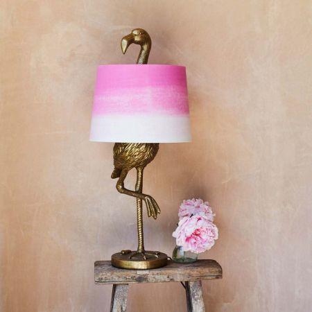 Gold Flamingo Table Lamp