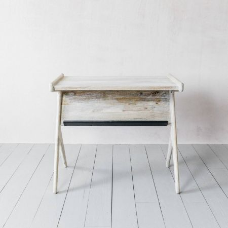 Whitewashed Irving Desk