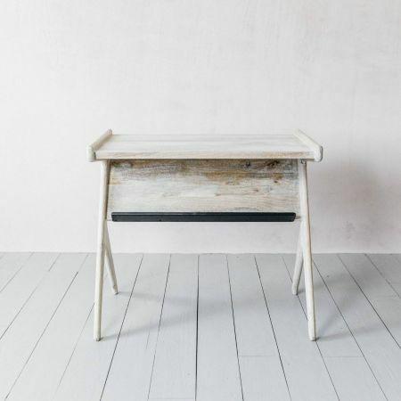 Whitewashed Irving Desk