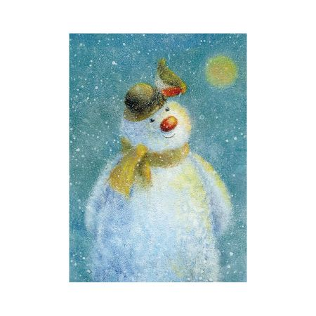 Set of Eight Snowman Christmas Cards