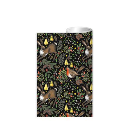 Christmas Garden Wrapping Paper