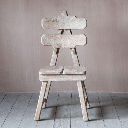 Anderson Sculptural Wooden chair