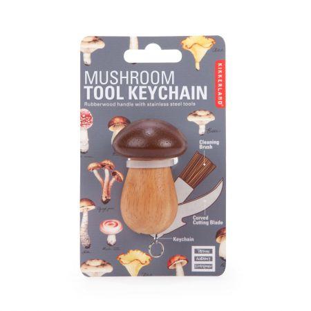 Mushroom Tool Keyring