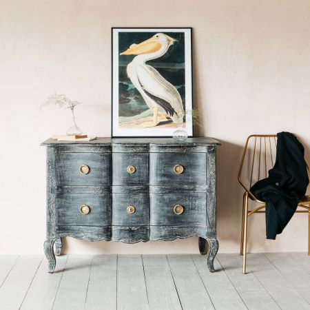 Antonia Black Chest of Drawers