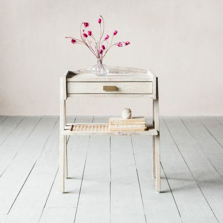Malacca Bedside Table