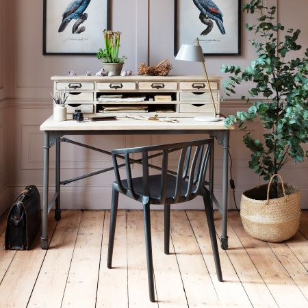 Welby Natural Writing Desk