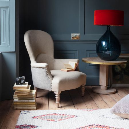 Ambrose Natural Linen Armchair