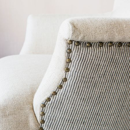 Ambrose Natural Linen Armchair
