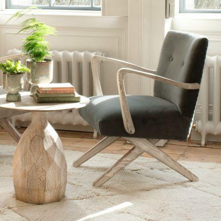 Axel Grey Armchair