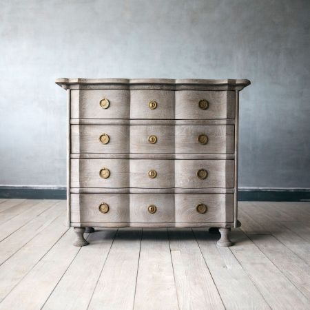 Sandblasted Jean Paul Chest of Drawers