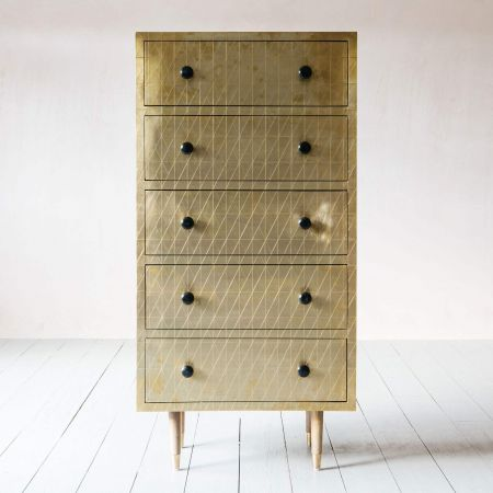 Zarina Tall Chest of Drawers