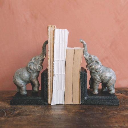 Ellie Elephant Bookends
