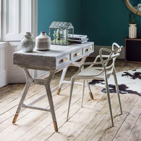 Sand-Blasted Nordic Desk