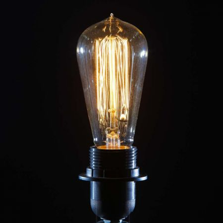 Retro Squirrel Light Bulb - Screw E27 40W