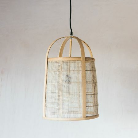 Bamboo and Linen Shade