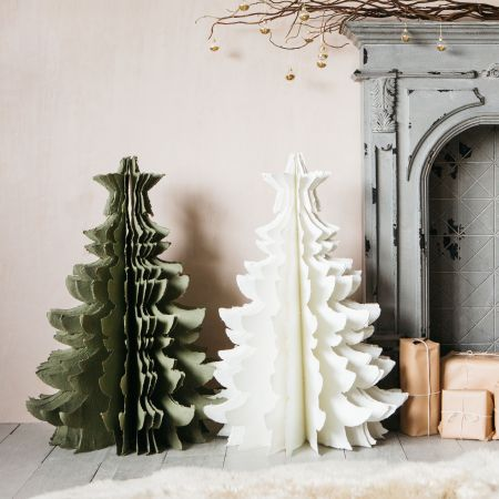 Large Paper Christmas Trees