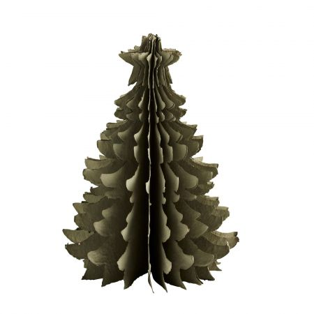 Large Green Paper Christmas Tree