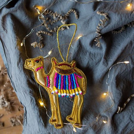 Colourful Camel Decoration