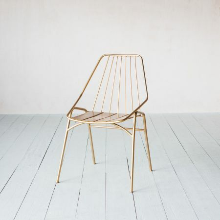 Ellwood Brass Chair