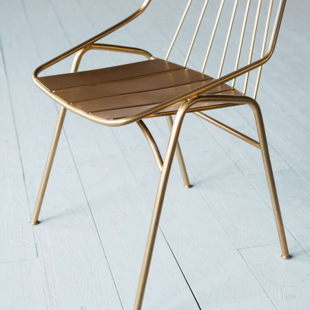 Ellwood Brass Chair