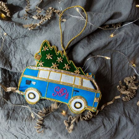 G&G Christmas Tree Campervan Decoration