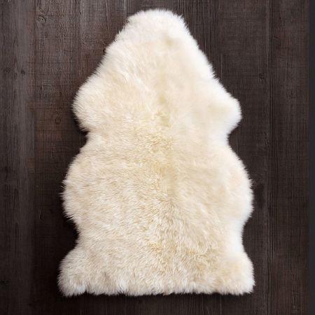Single Ivory Sheepskin