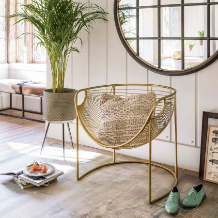 Mulberry Gold Leaf Lounger