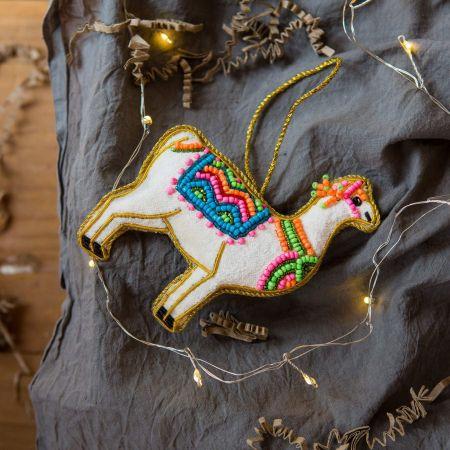 Decorated Llama Decoration