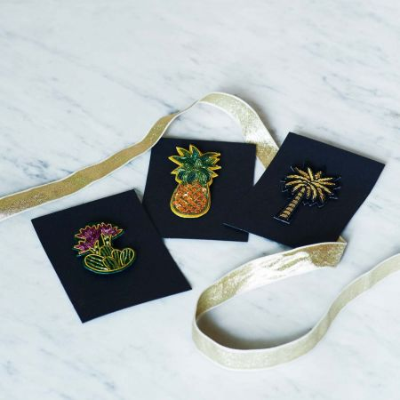 Tropical Brooches - Thumbnail
