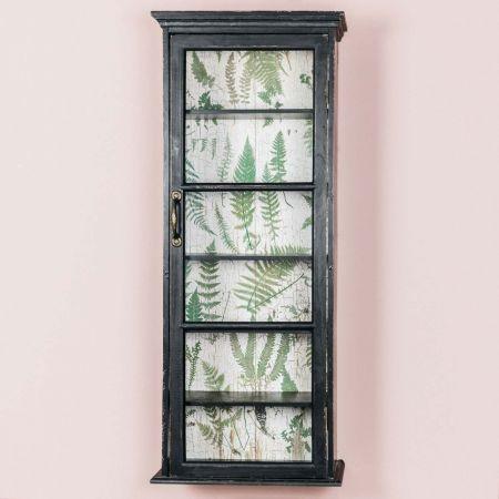 Black Glass Door Cabinet