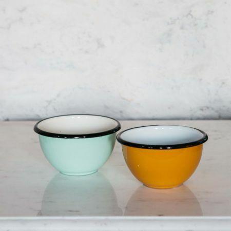 Small Enamel Bowls