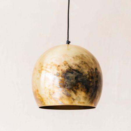 Antique Brass Ball Light