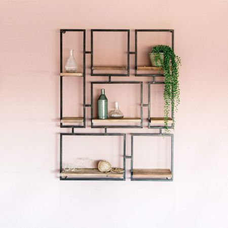 Geometric Frame Shelf