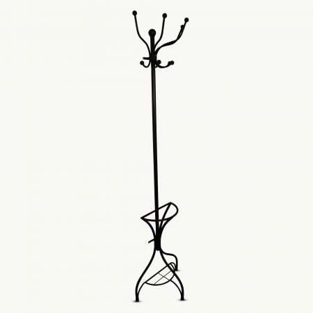 Wall Mounted Iron Coat Stand