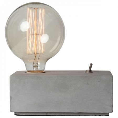 Concrete Toggle Switch Table Lamp