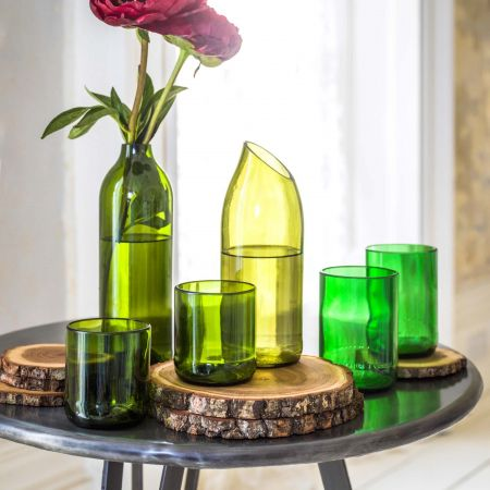 Recycled Bottle Glassware