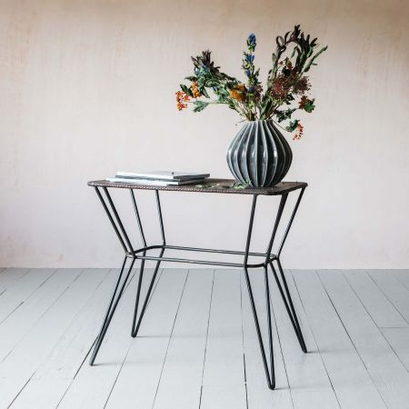 Thoren Industrial Side Table
